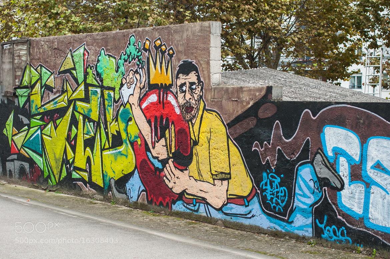 Photograph Le graffeur by serge vincent on 500px