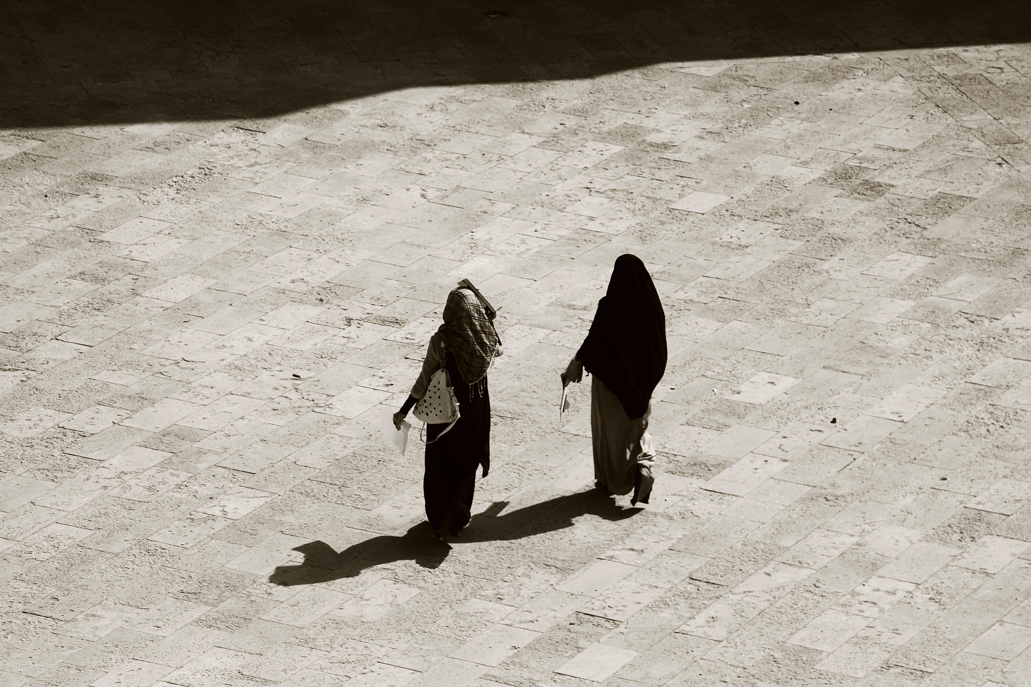 Photograph Shadows of walking people by AMJAD AGGAG on 500px