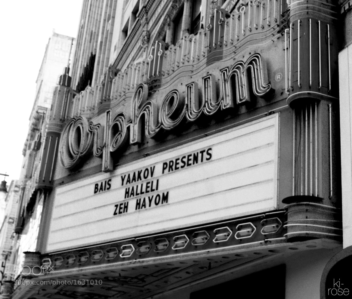 Photograph Orpheum by ki - rose on 500px