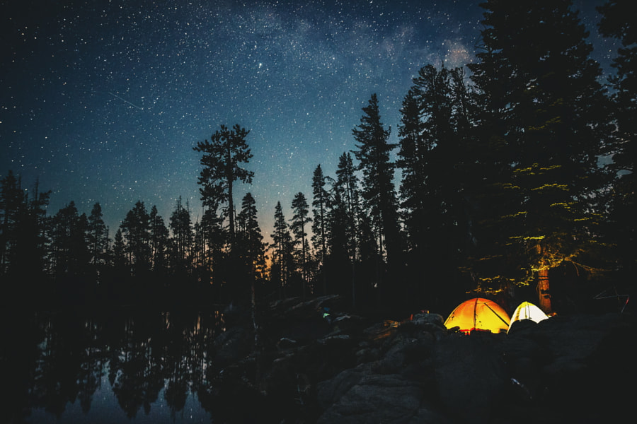 the perfect campsite by Sam Brockway on 500px.com