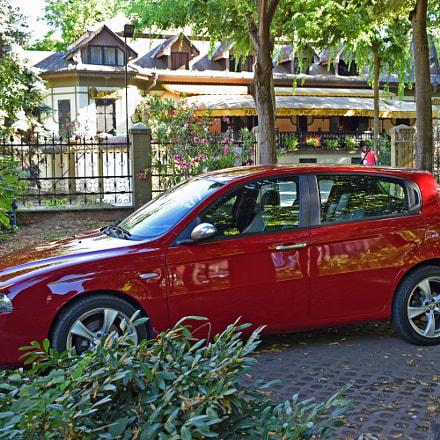 Alfa Romeo 147 Q2 in park Palic