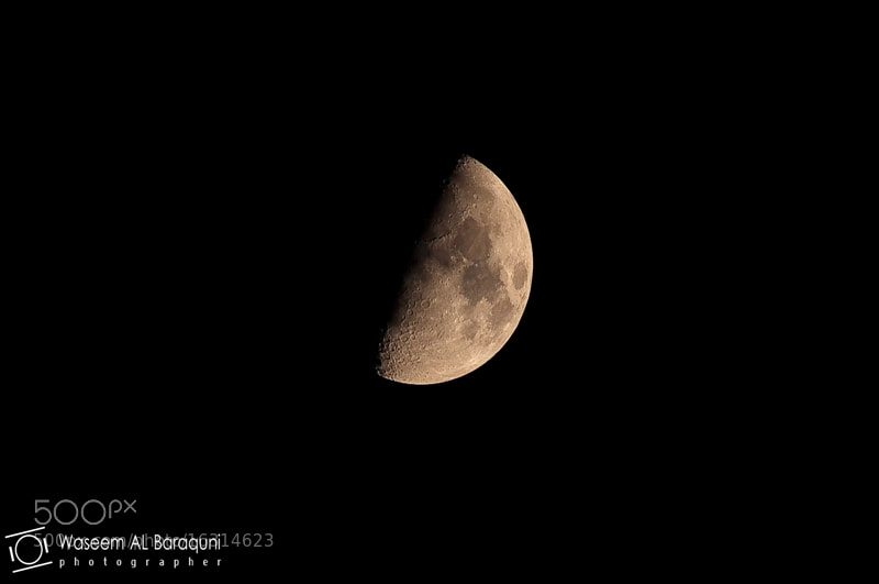 Photograph Mo___on  by Waseem  AL Baraquni on 500px