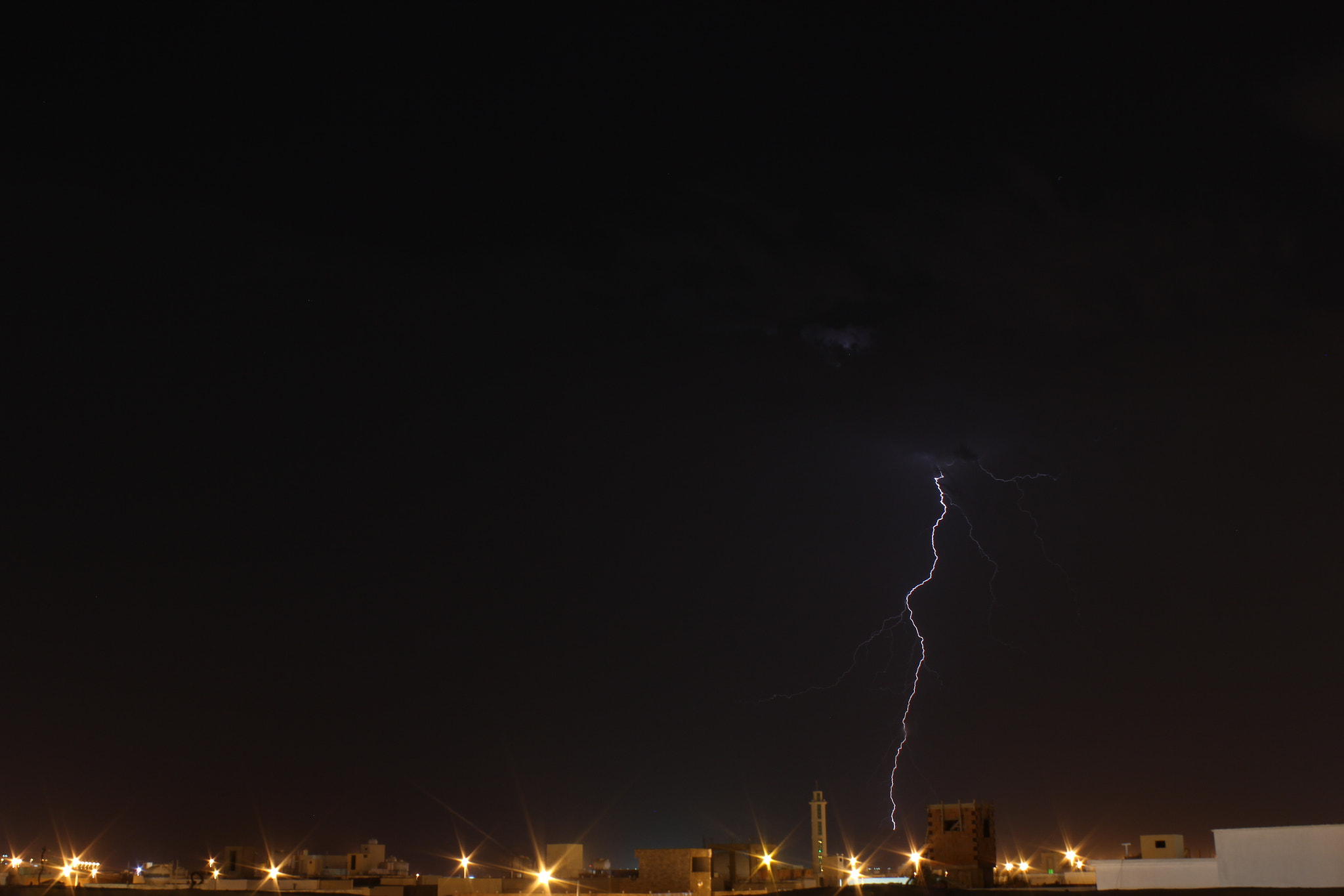 Photograph Lightning by SULTAN Al-Harthy on 500px