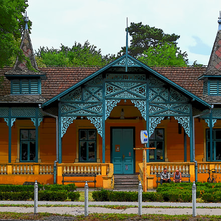 Post office at Palic