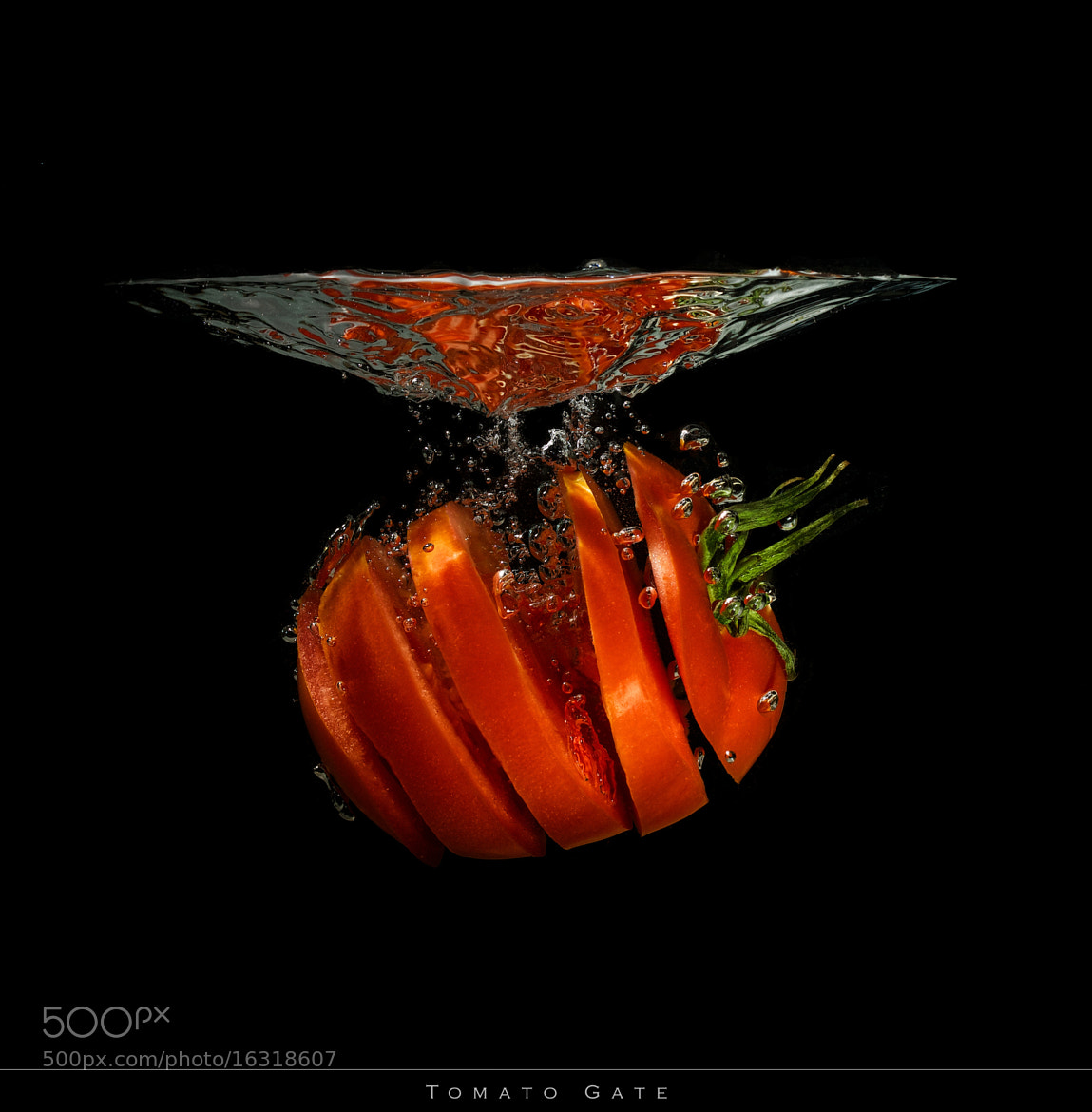 Photograph Tomato Gate by Benjamin gs on 500px