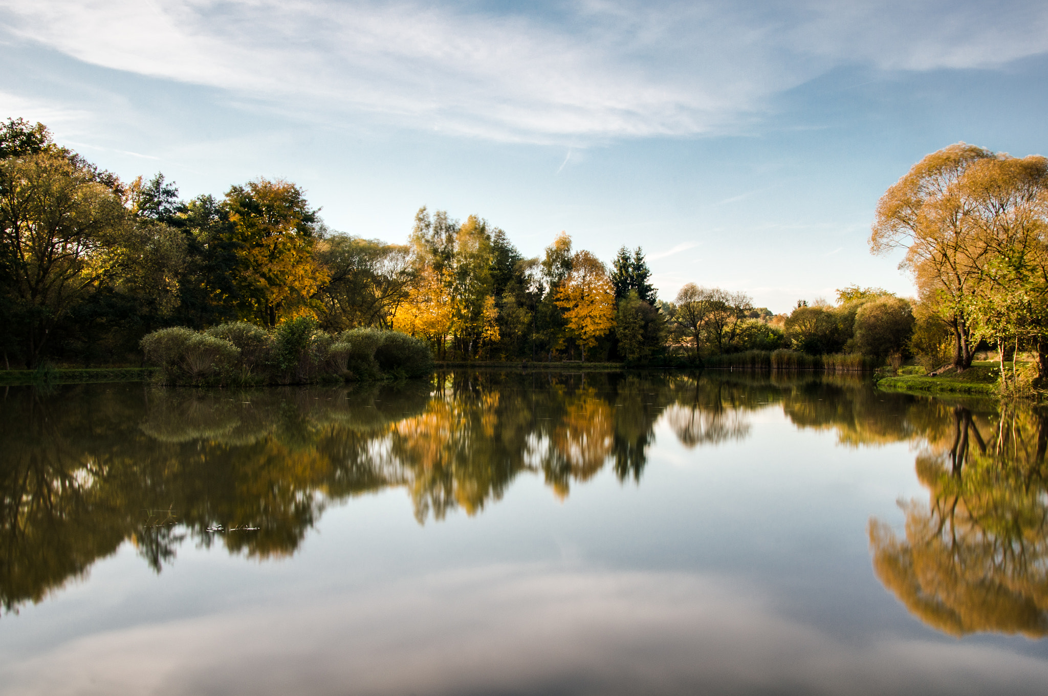 Photograph Autumn Reflections by Peter Sieling on 500px