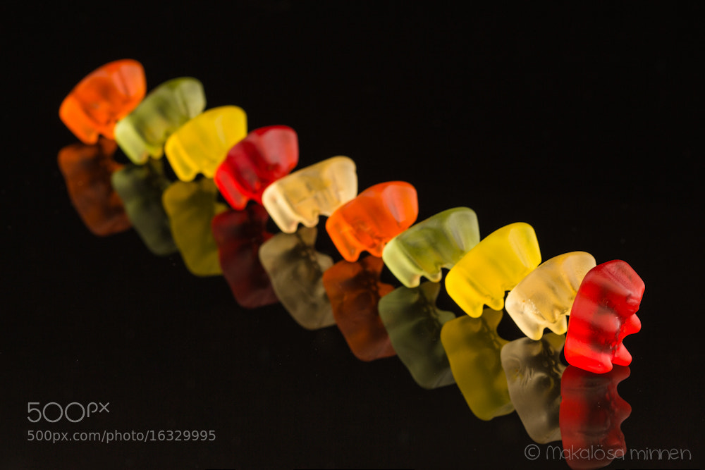 Photograph jelly bear domino by Sabine Schnell on 500px