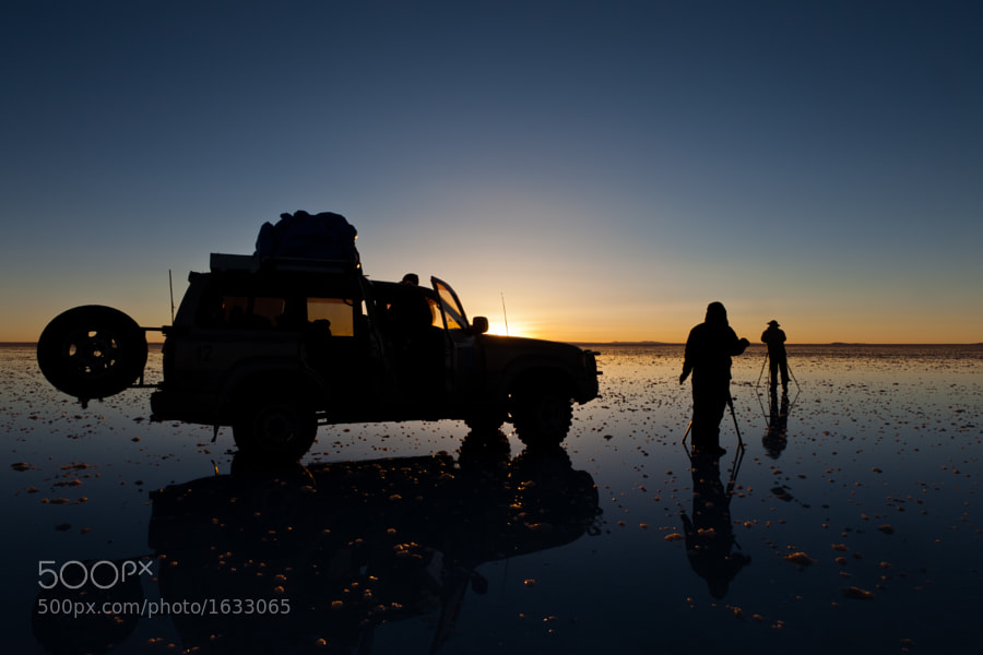Sunrise In the Uyuni Salt Flats in Bolivia by carlos restrepo (carlosrestrepo) on 500px.com