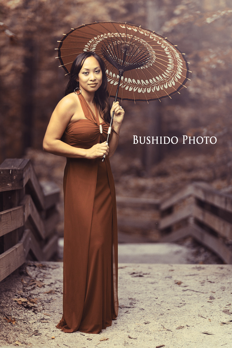 Photograph Girl with Japanese Umbrella by Chris Bergstrom on 500px