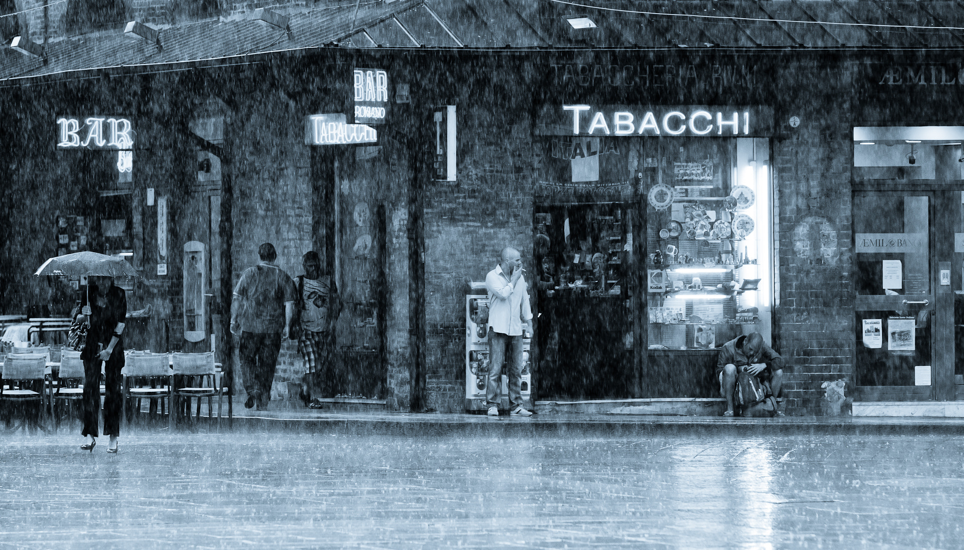 Photograph Rainy day at the bar by Michael Avory on 500px
