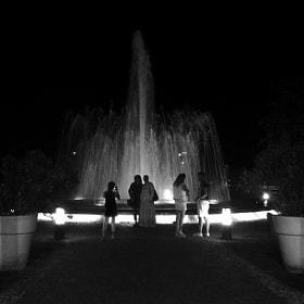 By night - Arona - Italy, 2016
