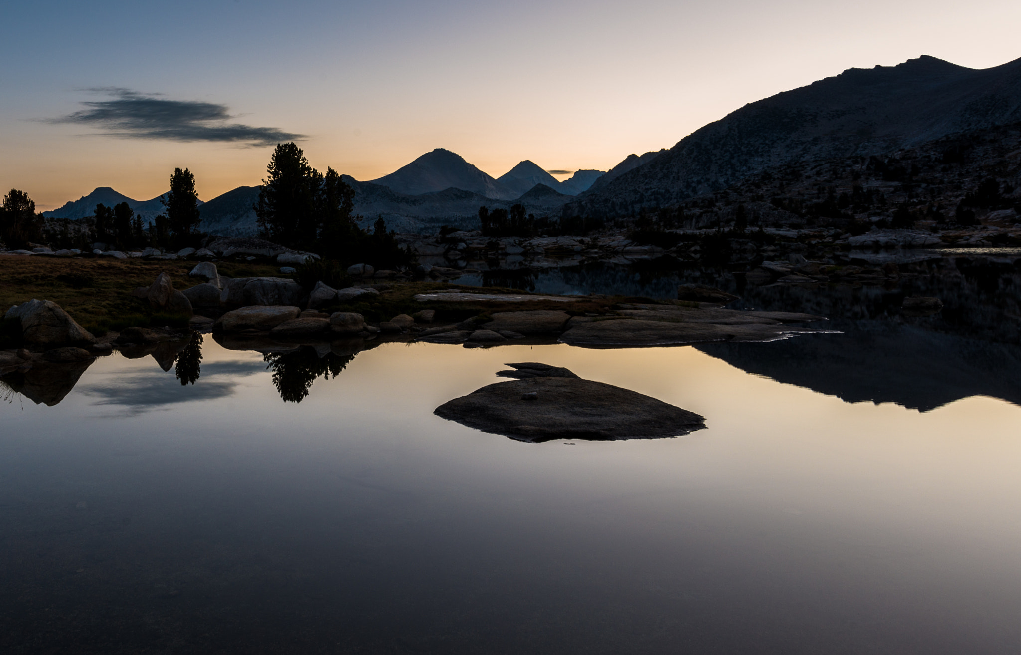 Photograph Marie Lakes Sunrise by Greg Padgett on 500px