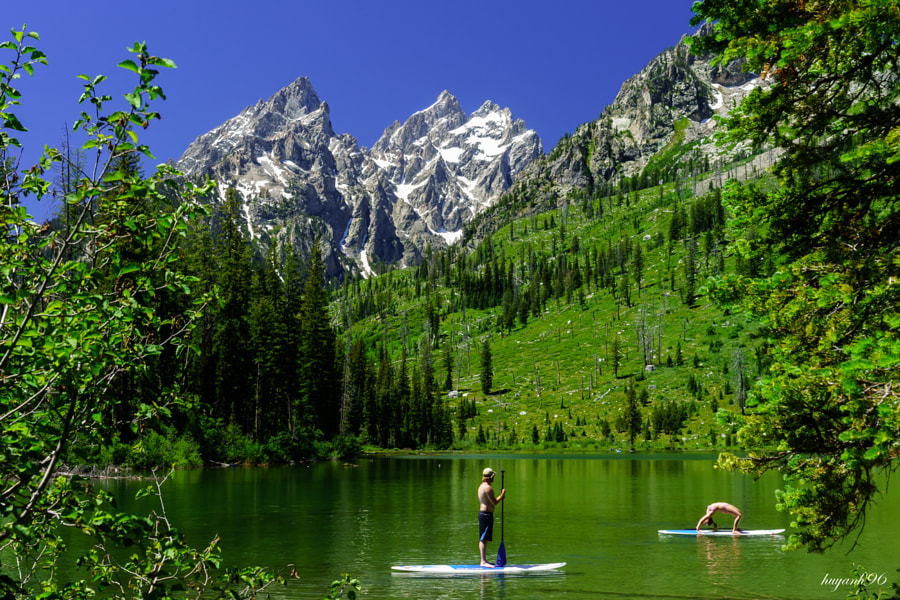 Summer on String Lake, Grand Teton NP de Huy Tran en 500px.com