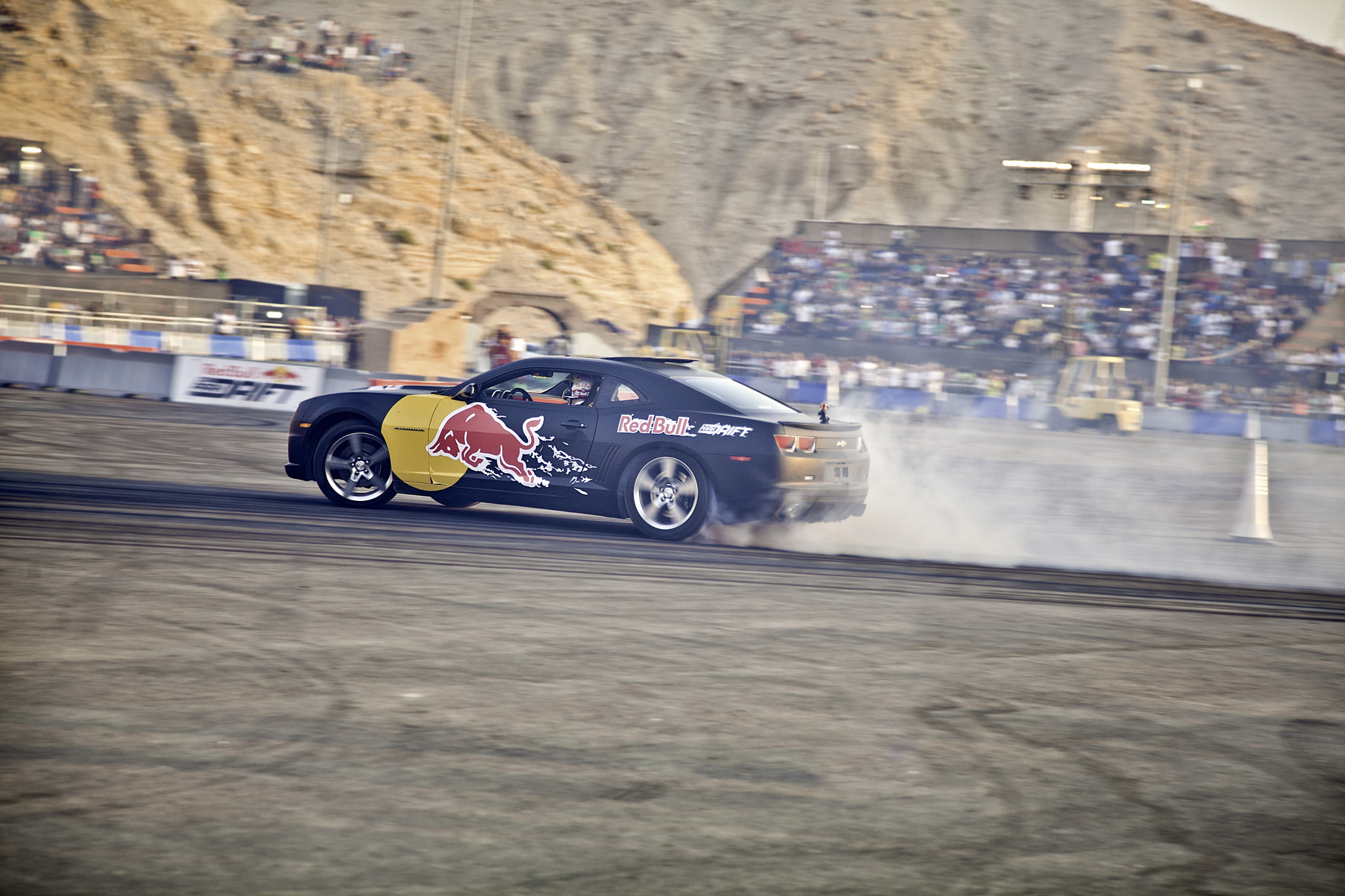 Photograph Red Bull Car Park Drift Middle East Finals by Zaid Saadallah on 500px