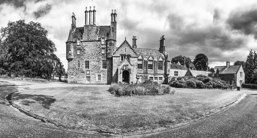 Lauriston Castle panorama