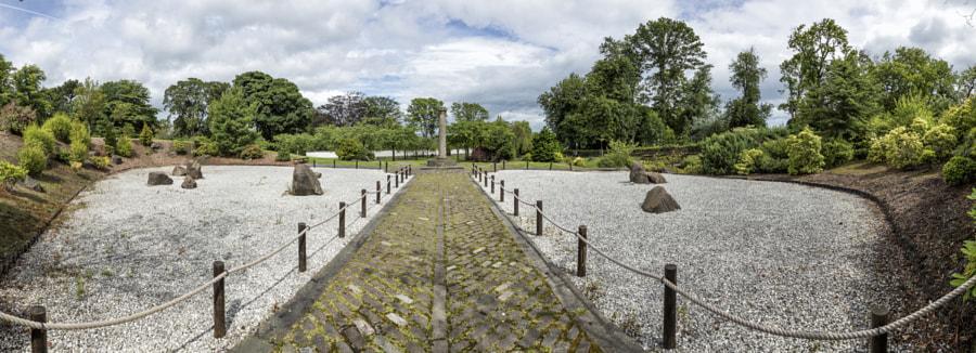 Japanese garden stones