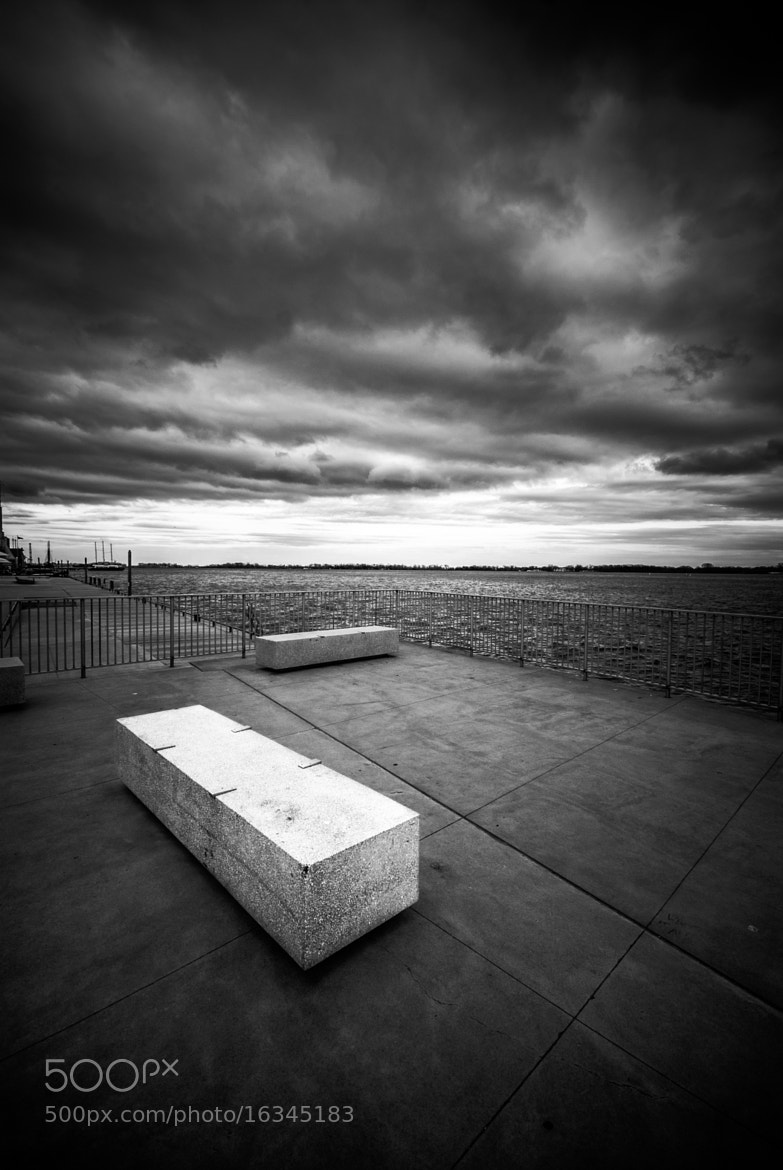 Photograph Harbour Bench by Rémi Carreiro on 500px