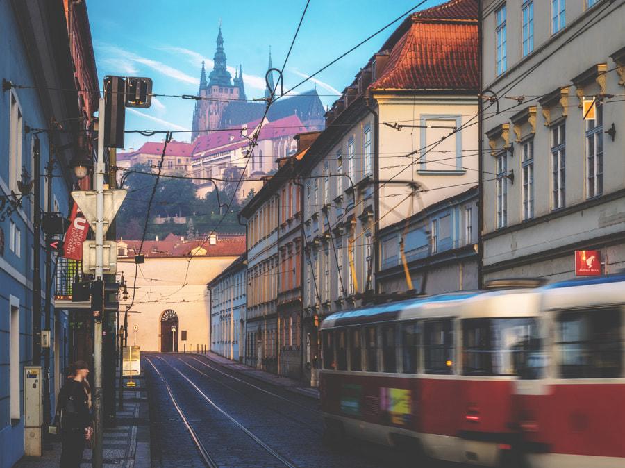 Morning rush, Prague