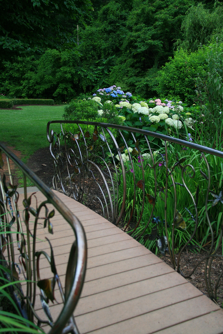 Photograph Bridge to the Garden by Laura Bellamy on 500px