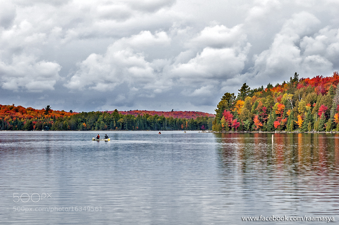 Photograph Canoe Lake - algonquin park by Ramkumar Sangameshwar on 500px
