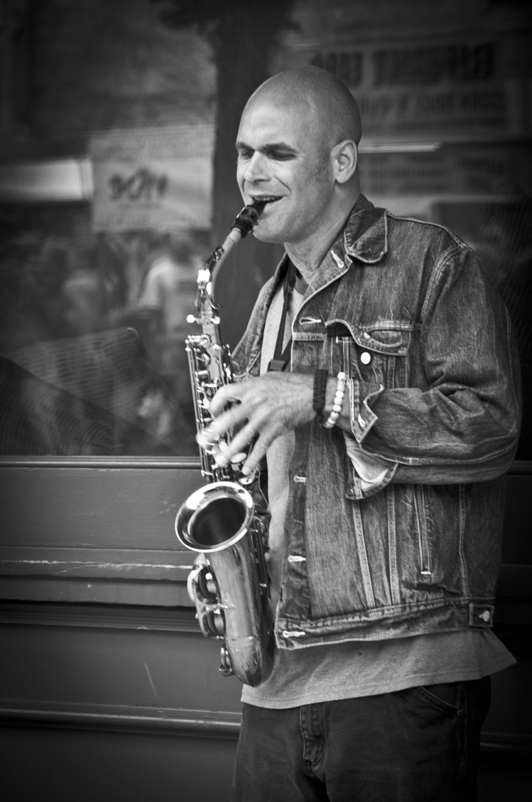 Photograph Just The Sax by Mark Whitney on 500px