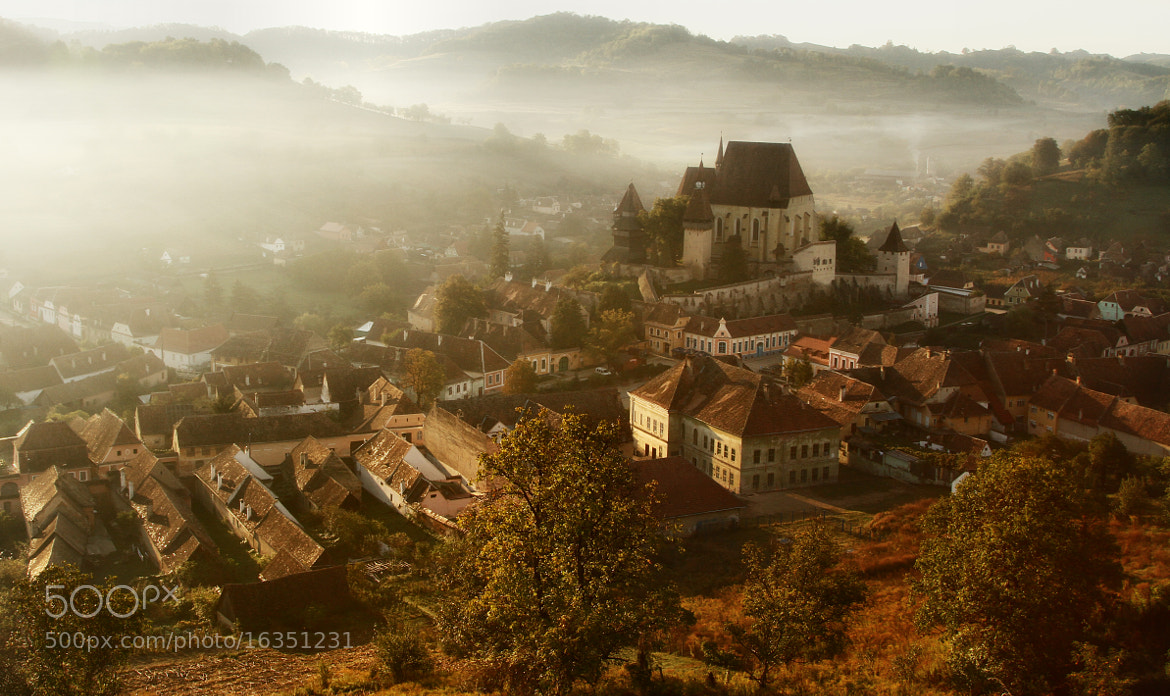 Photograph morning light of Biertan by nicu hoandra on 500px