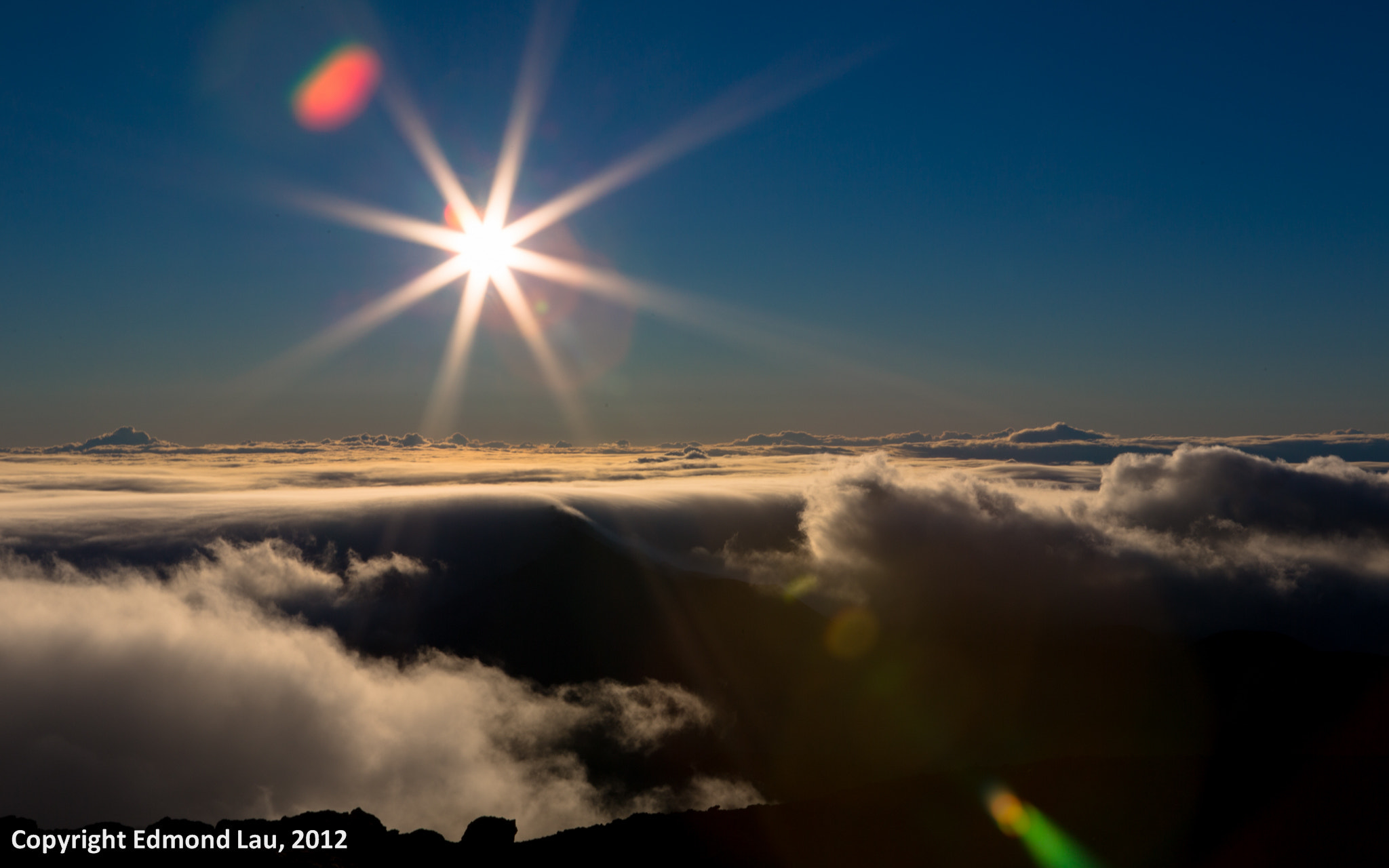 Photograph Haleakala Sun Ray (1) by Edmond Lau on 500px