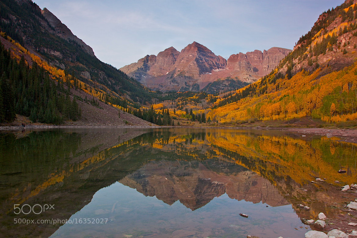 Photograph Brillance at Maroon Bells by Loree Keeble on 500px