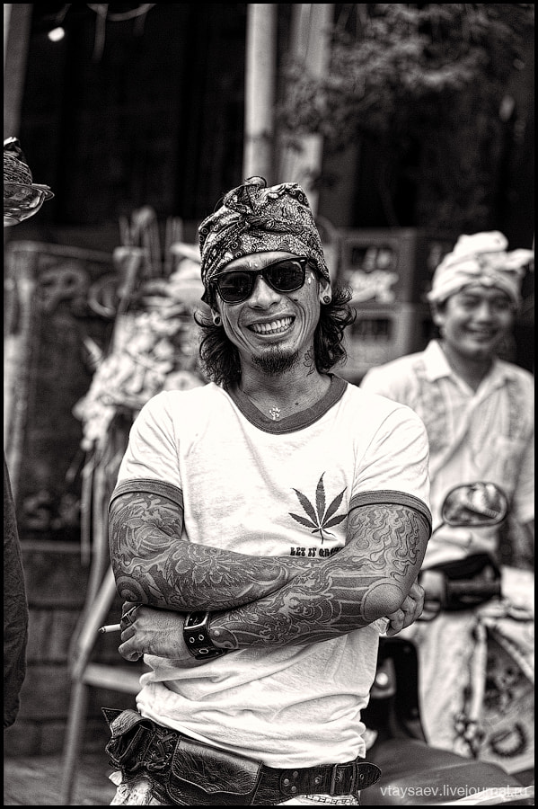 Photograph Portrait of the Balinese man by Vitaly Taysaev on 500px