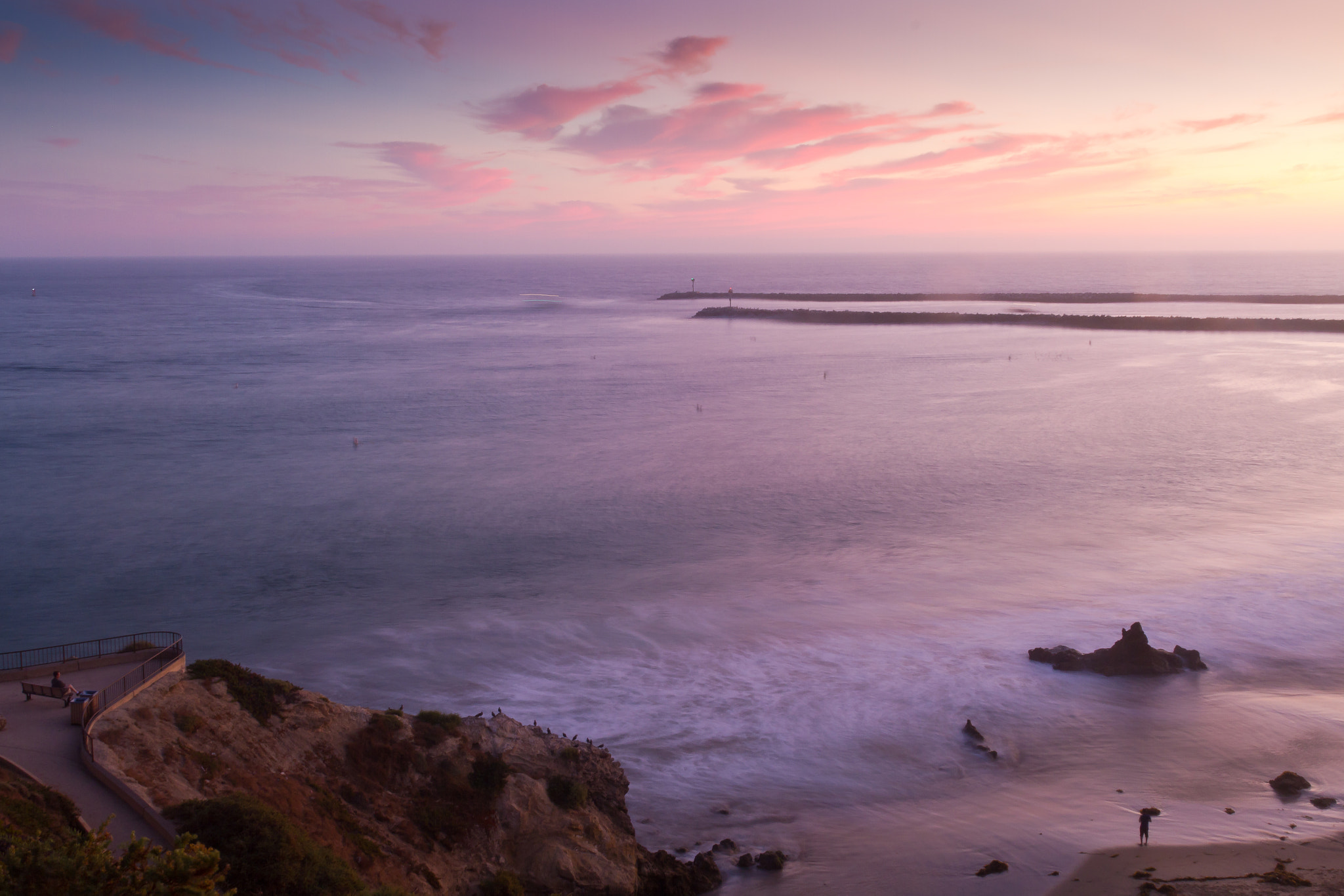Photograph Purple Sea by Russell Cronberg on 500px