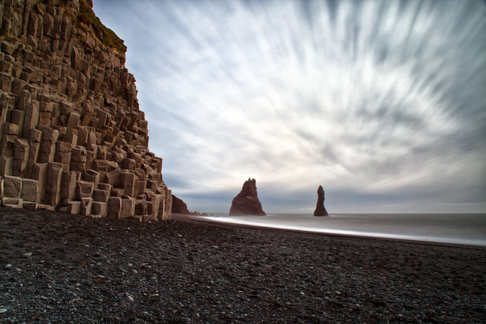 Photograph The black beach in Iceland by Tim Vollmer on 500px