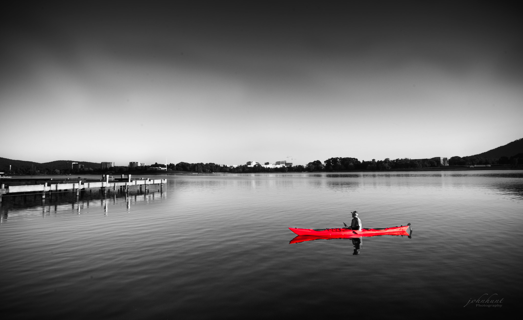 Photograph Red Kayak by John Hunt on 500px
