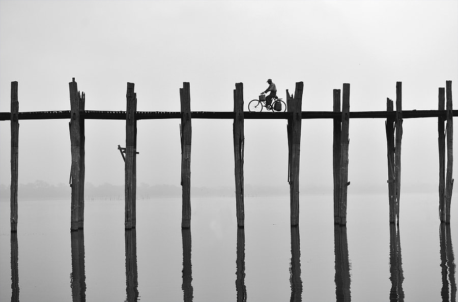 U Bein bridge (Myanmar) by Sarawut Intarob on 500px.com