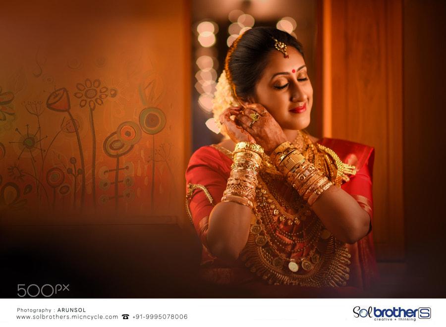 Kerala Wedding Bride Photography