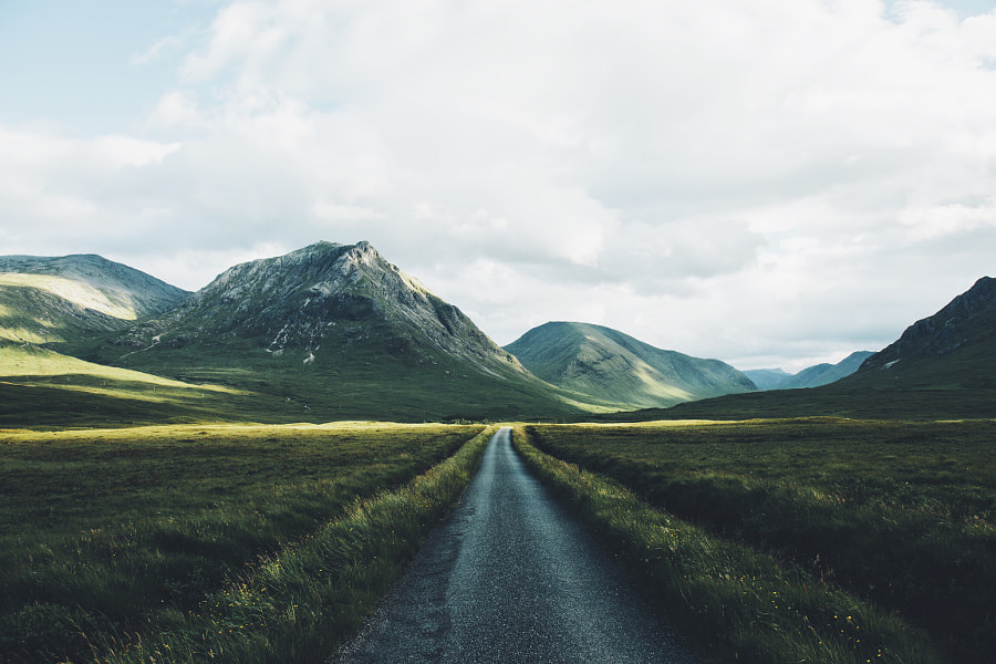 Glen Etive Road by Daniel Casson 1