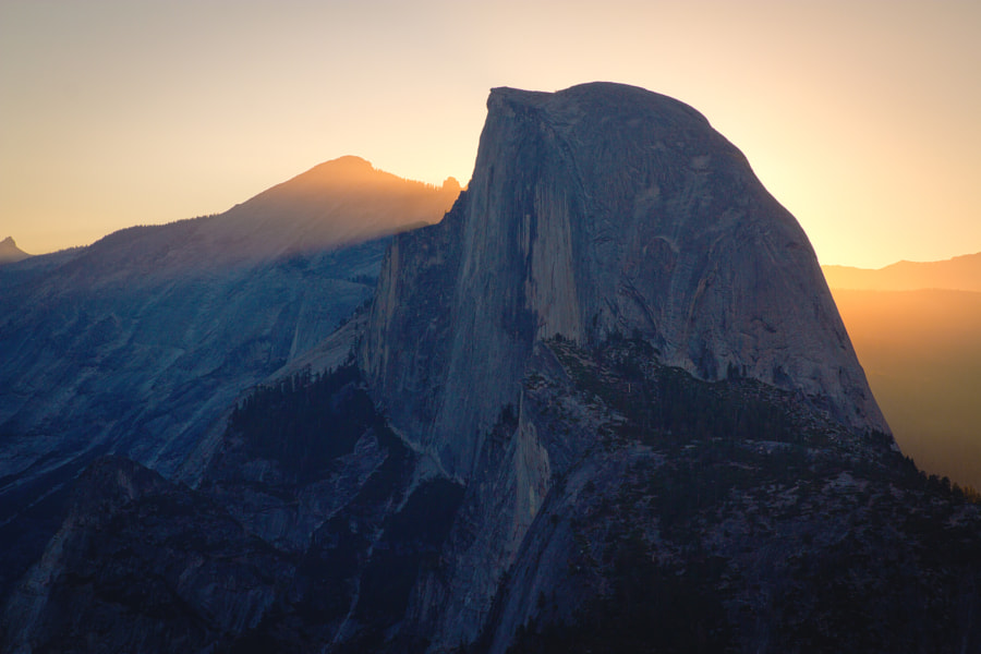 Half Dome Sunrise from Glacier Point by sam wirch on 500px.com