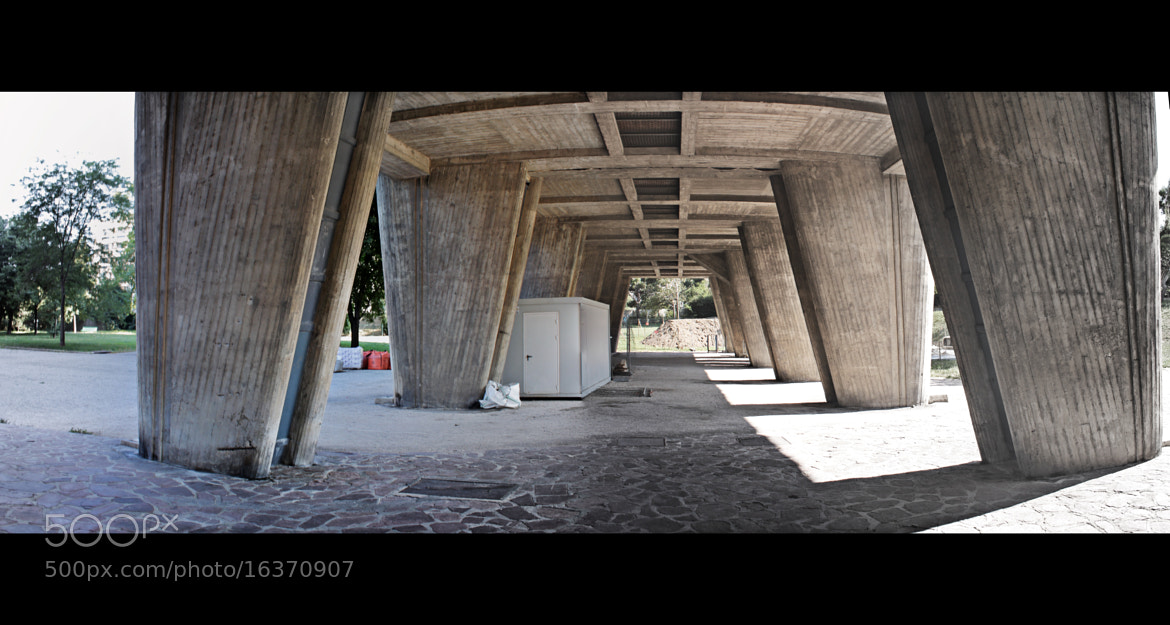 Photograph Under_Cité Radieuse by Charly Duchosal on 500px