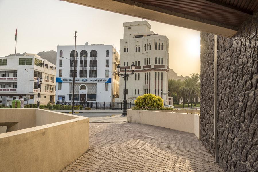 Walking in Old Muscat
