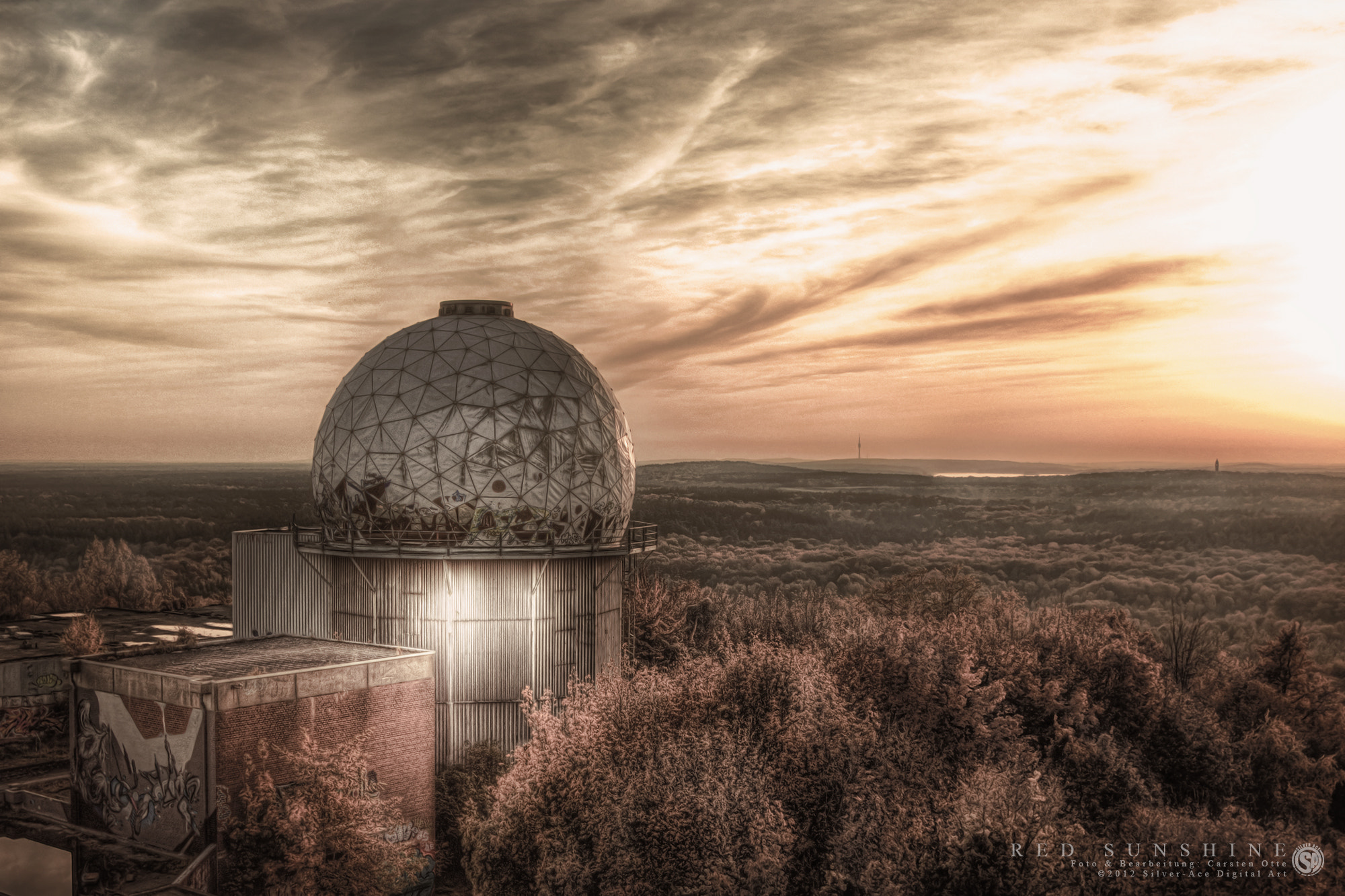 Photograph RED SUNSHINE (HDR) by Carsten Otte on 500px