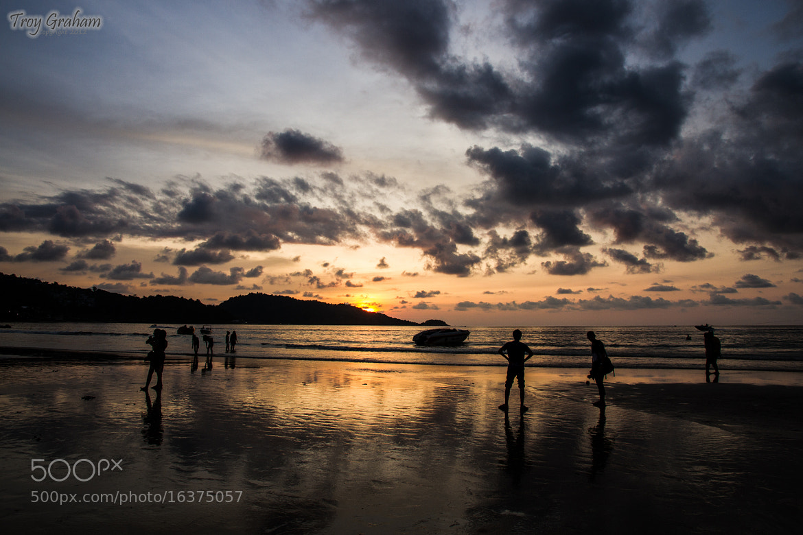 Photograph Patong Beach Sunset by Troy Graham on 500px