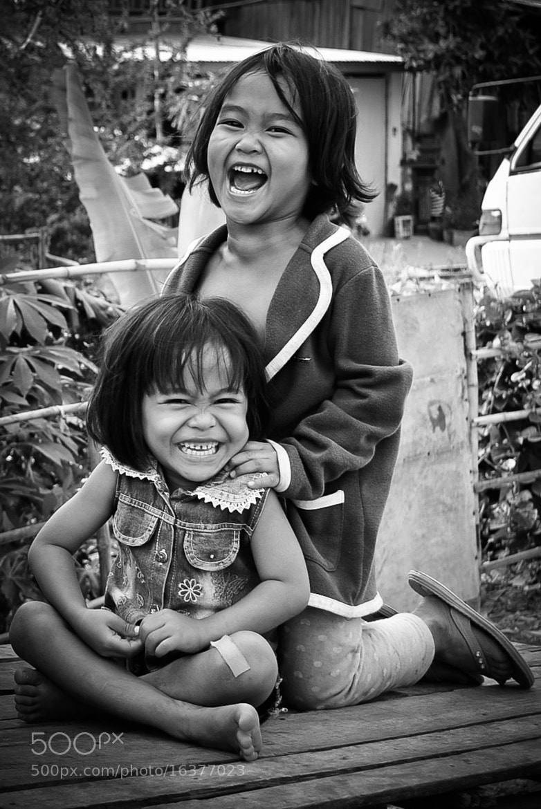 Photograph Giggling by  karen Petit on 500px