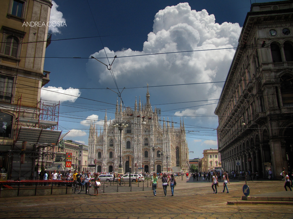 Photograph Milan Dome by Andrea Costa on 500px