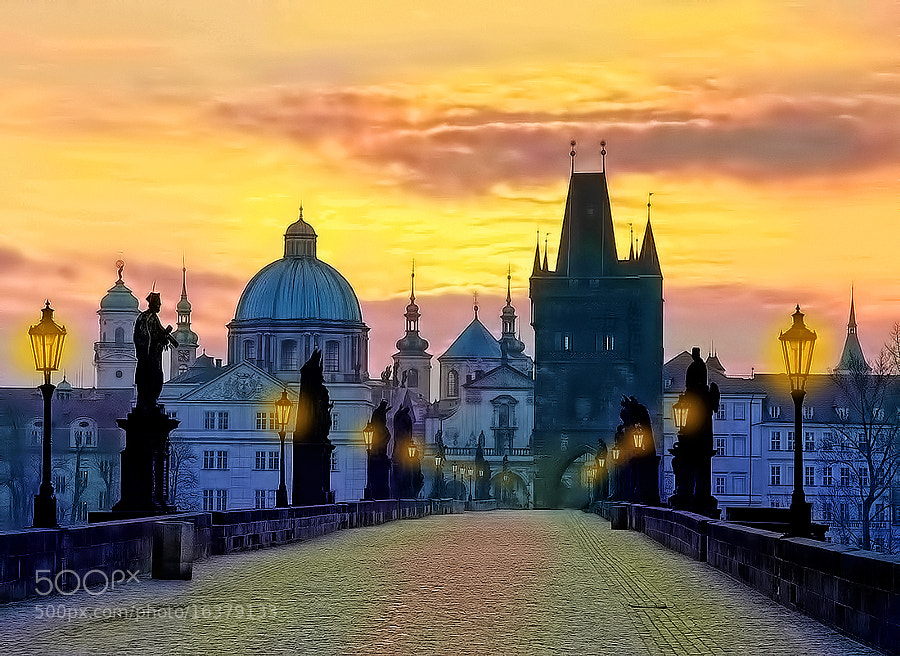 Photograph Charles Bridge by Kayman Studio on 500px