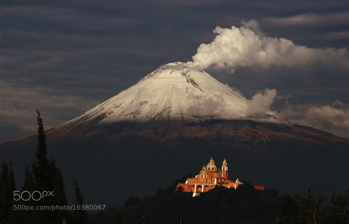 Photograph Snowy and smoking volcano by Cristobal Garciaferro Rubio on 500px