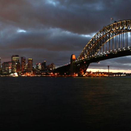 Sydney Harbour by night, Canon EOS 350D DIGITAL, Canon EF-S 17-85mm f/4-5.6 IS USM