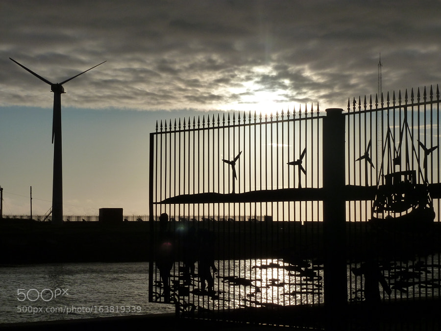 Sunrise Over Blyth Harbour...  photography