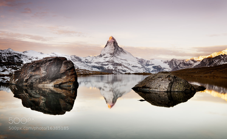 Photograph Stellisee Zermatt by 1D110 Bertrand Monney on 500px