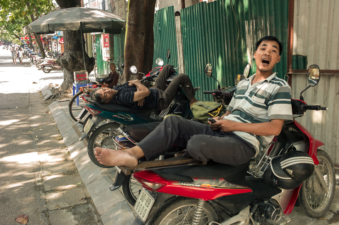 Photograph Portrait of a motorbike taxi driver by Arthur Fuse on 500px