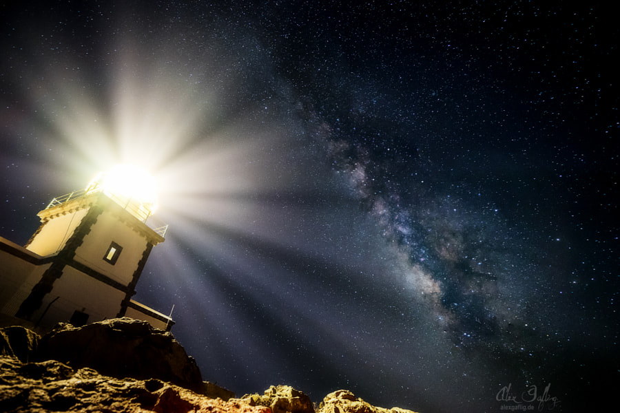 Lighthouse of the Galaxy by Alex Gaflig on 500px.com