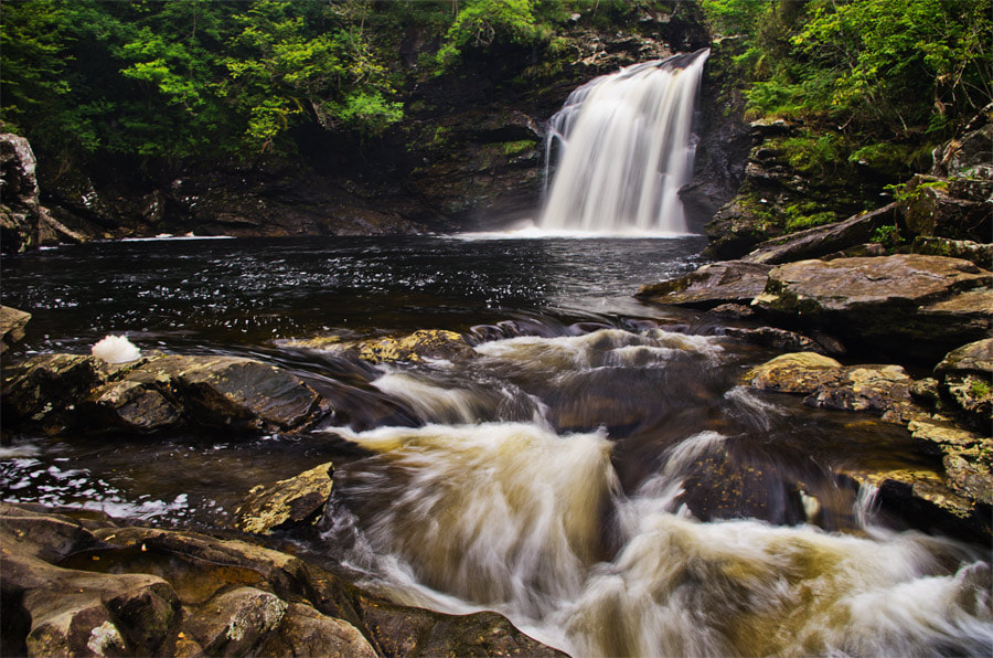 Photograph Falls of Falloch by Chris Jones on 500px